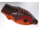 Part No: 98160c01pb01  Name: Dinosaur Body Tyrannosaurus rex with Dark Red Top with Dark Brown Stripes Pattern