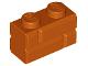 Part No: 98283  Name: Brick, Modified 1 x 2 with Masonry Profile (Brick Profile)