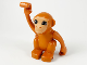 Part No: bb0953c01pb01  Name: Duplo Monkey, Curled Tail Turned to Side