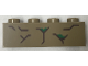 Part No: 3010pb252  Name: Brick 1 x 4 with Wood Grain Pattern #1 (Groot)