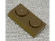 Part No: 3023pb02  Name: Plate 1 x 2 with Metallic Gold Pattern on Long Edge