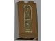 Part No: 3684apb012  Name: Slope 75 2 x 2 x 3 - Hollow Studs with Hieroglyphs, Snake on Top Pattern (Sticker) - Set 7327