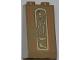 Part No: 3684apb015  Name: Slope 75 2 x 2 x 3 - Hollow Studs with Hieroglyphs, Arm on Bottom Pattern (Sticker) - Set 7327