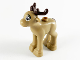 Part No: 58808pb01  Name: Reindeer, Fawn with Dark Brown Antlers and Tail Pattern