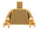 Part No: 973c62  Name: Torso Plain / Dark Tan Arms / Medium Nougat Hands