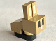 Part No: minebunny01  Name: Animal, Land Minecraft Bunny / Rabbit Baby - Brick Built