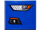 Part No: 15068pb056L  Name: Slope, Curved 2 x 2 with Ford Mustang Headlight / Fog Light Pattern Model Left Side (Sticker) - Set 75871