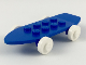 Part No: 2146c02  Name: Fabuland Skateboard with White Wheels