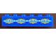 Part No: 2456pb021  Name: Brick 2 x 6 with SW Gungan Sub Controls Pattern (Sticker) - Set 9499