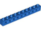 Part No: 2730  Name: Technic, Brick 1 x 10 with Holes