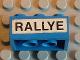 Part No: 3002oldpb10  Name: Brick 2 x 3 with 'RALLYE' Pattern (Sticker) - Set 619