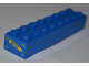 Part No: 3007pb05  Name: Brick 2 x 8 with 'RESCUE' on Yellow Arrow Pattern on End (Sticker) - Set 4439
