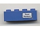 Part No: 3010pb059  Name: Brick 1 x 4 with 'Basel - Hamburg' Pattern (Sticker) - Set 7710/7818