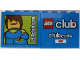 Part No: 30144pb134  Name: Brick 2 x 4 x 3 with LEGOclub.com and Max Pattern and clubcode on Reverse