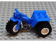 Part No: 30187c06  Name: Tricycle with Dark Bluish Gray Chassis & White Wheels