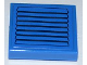 Part No: 3068bpb0455  Name: Tile 2 x 2 with Groove with Black Vent on Blue Background Pattern (Sticker) - Set 3181