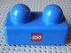 Part No: 31001pb03  Name: Primo Brick 1 x 2 with Lego Logo Pattern