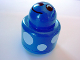 Part No: 31005pb08  Name: Primo Brick, Round Rattle 1 x 1 with Spots and Smiling Face Pattern