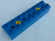 Part No: 31036c02  Name: Duplo, Toolo Brick 2 x 8 with 2 Screws (positions 2 and 6)