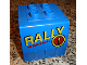 Part No: 31304pb03  Name: Duplo, Train Freight Container with Rally Pattern