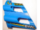 Part No: 32191pb04  Name: Technic, Panel Fairing # 2 Large Short, Large Holes, Side B with White 8444 and Yellow Arrow Pattern (Stickers) - Set 8444