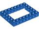 Part No: 32532  Name: Technic, Brick 6 x 8 Open Center