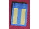 Part No: 3298px3  Name: Slope 33 3 x 2 with Yellow Stripes Pattern