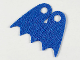 Part No: 36109  Name: Minifigure Cape Cloth, Short, Scalloped 5 Points (Batman), Tear-Drop Neck Cut - Spongy Stretchable Fabric