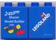 Part No: 4066pb275  Name: Duplo, Brick 1 x 2 x 2 with Junior Master Model Builder 2006 Pattern (Stickered)