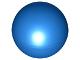 Part No: 41250  Name: Ball, Hard Plastic 52mm D. (Duplo Ball for Ball Tube)