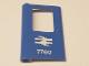 Part No: 4181pb066  Name: Door 1 x 4 x 5 Train Left with British Railways Train Logo and '7760' Pattern (Sticker) - Set 7760