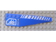 Part No: 42060pb15  Name: Wedge 12 x 3 Right with White Hash Lines and Square with Cut Corner Pattern (Stickers) - Set 7709