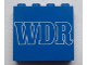Part No: 4215apb12  Name: Panel 1 x 4 x 3 - Solid Studs with 'WDR' Pattern