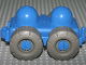 Part No: 45205  Name: Primo Vehicle Wagon with Tow Hitches, Mud Flaps, and Treaded Tires