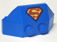 Part No: 47759pb11  Name: Wedge 2 x 4 Triple with Superman 'S' Logo Pattern