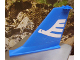 Part No: 54094pb01  Name: Tail 14 x 2 x 8 with White Airline Bird Pattern