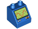 Part No: 6474pb29  Name: Duplo, Brick 2 x 2 Slope 45 with Oscilloscope Pattern