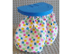 Part No: 6484  Name: Duplo Furniture Shower Plate 6 x 5 with Cloth Shower Curtains