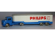 Part No: 657pb09  Name: HO Scale, Mercedes Refrigerated Truck (Philips, Twin Axle)