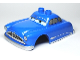 Part No: 88767pb01  Name: Duplo Car Body 2 Top Studs with Cars Doc Hudson Hornet Pattern