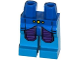 Part No: 970c153pb04  Name: Hips and Dark Azure Legs with Blue and Purple Space Armor and 3 Yellow Lights Pattern
