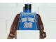 Part No: 973bpb144c01  Name: Torso NBA New York Knicks #20 Pattern / Brown NBA Arms