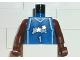 Part No: 973bpb145c01  Name: Torso NBA Orlando Magic #1 (Blue Jersey) Pattern / Brown NBA Arms
