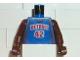 Part No: 973bpb224c01  Name: Torso NBA Detroit Pistons #42 Pattern / Brown NBA Arms