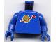 Part No: 973p90c01  Name: Torso Space Classic Moon Pattern / Blue Arms / Blue Hands