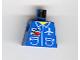 "Part No: 973pb0097  Name: Torso Airplane Crew Male, Pockets, ID Badge ""AIR"" and Logo Pattern"