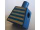 Part No: 973pb0386  Name: Torso Idea Book 6000 Bill with Blue and White Stripes Pattern (Sticker)