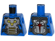 Part No: 973pb1728  Name: Torso Armor Plate with Straps and Nova Corps Markings Pattern