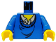 Part No: 973px151c01  Name: Torso Harry Potter Ron Pattern / Blue Arms / Yellow Hands
