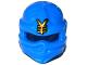 Part No: 98133pb12  Name: Minifigure, Headgear Ninjago Wrap with Gold Asian Character Pattern (Jay)